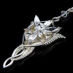 Arwen Evenstar Necklace. Yep, I own it. This was an Anniversary gift from my husband. <3