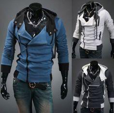 NEW-Assassins-Creed-III-3-Desmond-Miles-Hoodie-Jacket-Top-Coat-Cosplay-Costume