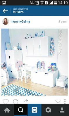 Kids Bedroom Dream, Baby Bedroom, Girls Bedroom, Boy Room, Kids Room, Ideas Habitaciones, Ikea Kids, Maila, Kids Corner