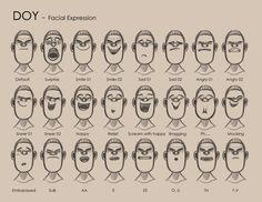 expression sheet 2