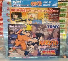 Naruto for GameBoy Advance   Japanese GBA games are Region Free and play on all Systems Worldwide!