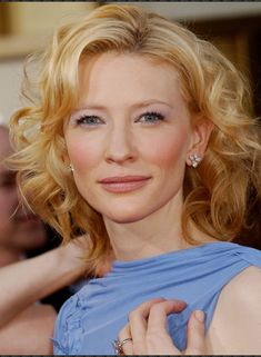 Cate Blanchett - so beautiful! Slightly edgy for an SC look, but I love it.