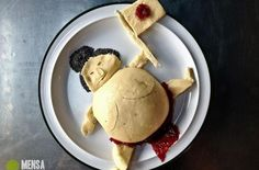 Check out this sumo wrestler from Mensa Food Art via @Foodista