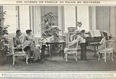 La familia del archiduque Francisco Fernando