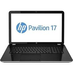 """HP Pavilion 17-e146us 17.3"""" Notebook PC - Intel Core i3-4000M / 6GB Memory / 750GB HD / SuperMulti DVD / HD Webcam & Microphone / Windows 8.1 64-bit - Do it all, without fail-play with confidence, using a super-reliable, feature-packed PC with a large color display. •Intel Core i3 Processor •6GB DDR3L SDRAM (2 DIMM) Maximum supported = 8GB •750GB 5400RPM hard drive with HP ProtectSmart Hard Drive Protection •17.3-inch diagonal HD+ BrightView LE... - http://ehowsup"""