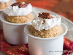 Get into the fall spirit with this pumpkin pie pudding recipe for Slow Cooker Pumpkin Pie Pudding. It's easy to make, using pumpkin pie puree, evaporated milk, all-purpose baking mix, and more. Whipped cream, pecans, and ground cinnamon will make this autumn dessert extra special.