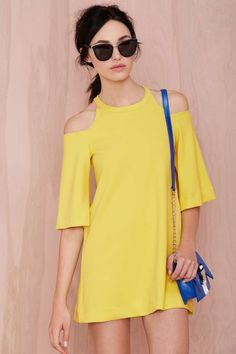 Foxiedox Canary Shift Dress   Shop What's New at Nasty Gal