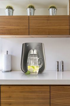 The Virgin Pure T7 WaterBar in silver. Pure Water, instantly boiling and perfectly chilled. Great tasting, no scale, professionally installed and easy to use