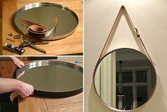 Espelho com cinto