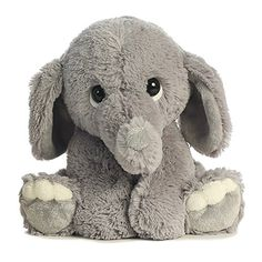 Aurora 0 World Lil Benny Phant the Elephant Plush Toy Super-soft plush and huggable bodyEndearing facial expression and body position Ages Elephant Stuffed Animal, Cute Stuffed Animals, Pet Toys, Baby Toys, Plush Animals, Plush Dolls, T Rex, Animals For Kids, Cuddling