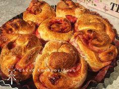 Ψωμάκια γεμιστά με μαρμελάδα French Toast, Food And Drink, Breakfast, Morning Coffee