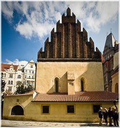 Old-New Synagogue in Prague.