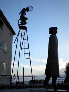 Public Sculpture, St Paul de Vence, France