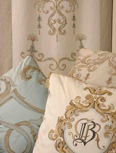 Bery Designs hand painted fabrics: CUSHIONS