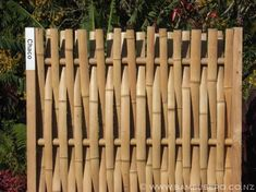 innovative bamboo fence design