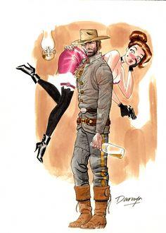 Darwyn Cooke - Jonah Hex  Comic Art