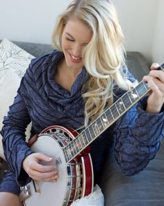 """""""I started playing banjo in college. Initially, I took a lot of lessons and learned by watching and listening to my friend's L.A.-based bluegrass band, The Dust Bowl Cavaliers. But the best way to learn is definitely by playing and jamming with other people."""" - Ashley Campbell"""