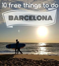 Barcelona isn't as expensive as you think ; Free Things To Do, Thinking Of You, Travel Tips, Barcelona, Places, Poster, Thinking About You, Travel Advice, Barcelona Spain