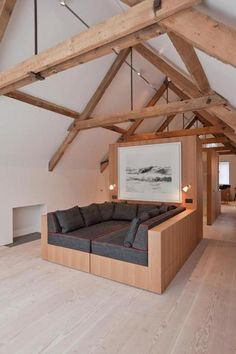Wooden Loft, amazing.