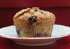 Gluten Free, Dairy/Lactose Free Jordan Marsh Blueberry Muffins Recipe via @SparkPeople