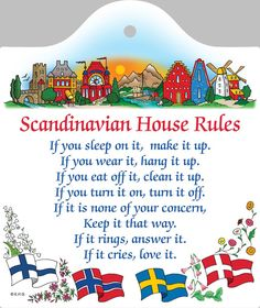 This charming wall décor will brighten your kitchen and home. The exclusive artwork on this wall tile makes for a classic Scandinavian gift. Cheeseboard features a hole for hanging, floral pattern gif Scandinavian Folk Art, Scandinavian Kitchen, Scandinavian Interior, Scandinavian Recipes, Danish Culture, Sweden Travel, Swedish Style, House Rules, Wall Tiles