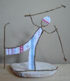 Fée de papier - Vive le ski!