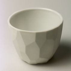 Ábel Lakatos - Translucent cup, casted from the fine herendi porcelain and fired in a Dunloff gaskiln up to 1350°C (▲14).