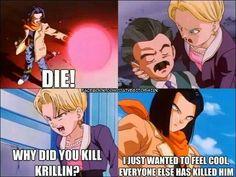 Damn yeah Krillin dies alot but damn Anime Toon, Anime Manga, Dragon Ball C, Dbz Memes, Funny Dragon, Anime Rules, Pokemon, Happy Cartoon, Stupid Funny Memes