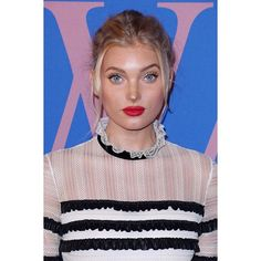 #NEW || Elsa Hosk attends the CFDA Awards in New York.  In love with this look as usual.  @hoskelsa #elsahosk #victoriassecret #cfdaawards  via DAILY VICTORIA'S SECRET ANGELS OFFICIAL INSTAGRAM - Apparel  Fashion  Bras  Advertising  Culture  Beauty  Editorial Photography  Magazine Covers  Supermodels  Runway Models