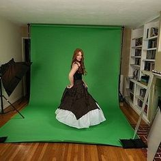 How to make a green screen!  Cool!  And this is great for all the little moviemakers out there!