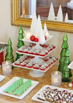 Classic Holiday Dessert Table – Glorious Treats