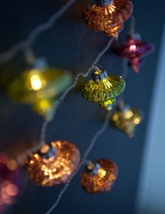 I am a huge fan of light strings, all year round. Light up your home with these beautiful Kasbah lights. LED 3m light chain with glass colourful Morrocan inspired decorations . We think they look stunning.