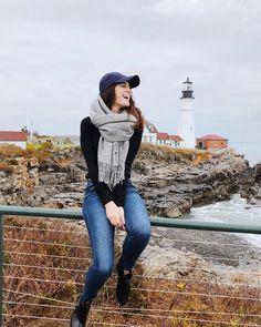 Portland, Maine Portland Maine, Oregon, Turtle Neck, Instagram, Sweaters, Fashion, Daughter, Moda, Fashion Styles