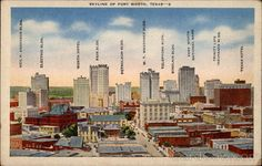 Fort Worth's Downtown Buildings