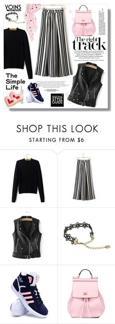 """""""Hijab"""" by sans-moderation ❤ liked on Polyvore featuring Guide London, adidas, Dolce&Gabbana, Kate Spade, hijab and yoins"""