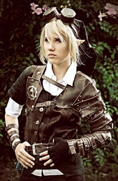 Lady Steampunk Link - The Legend of Zelda cosplay