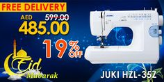 Juki HZL-35Z #eid #mubarak #offers #deals #discounts #sale #promo #stitch #fashion #sewing #machine #juki