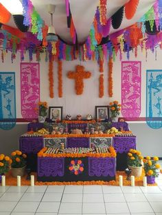 México Day Of The Dead Diy, Mexico Day Of The Dead, Day Of The Dead Party, Halloween Party Decor, Fall Halloween, All Souls Day, Mexican Party, Hallows Eve, Poses