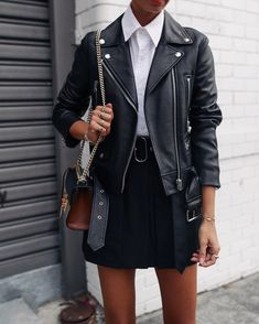street style edgy casual outfit, street style women outfits minimal classic, womens street style chic outfit