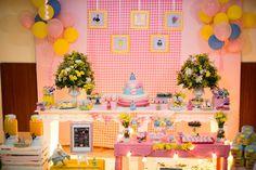 Galinha Pintadinha Rosa By Ariane Fernandes Decor – Inspire sua Festa ®