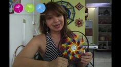 ~ Hi everyone, this is my second Rainbow Loom video. The reason that this video is sped up is because my Spanish accent is less noticeable this way and I thi. Estrella Cardinal, Yarn Crafts, Diy And Crafts, Dream Catcher Mandala, Rainbow Loom, String Art, Quilling, Hand Embroidery, Youtube