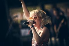 Carly Rae Jepsen at Lollapalooza music festival photographed by Koury Angelo in Chicago, IL, USA on 04 August, 2018 for Rolling Stone. Carly Rae Jepson, Lollapalooza Chicago, Political News, Rolling Stones, My Music, My Girl, Film, Celebrities, Ears