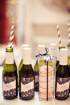 cute idea for a shower or bachelorette party. or favors