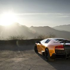 Beautiful Sunrise, Lamborghini Murcielago