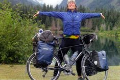 The joy of bicycle touring.