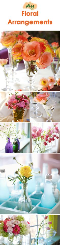 One of our favorite parts of spring are the colorful blooms! Brighten up your home by bringing fresh flowers indoors. We hope our ideas will inspire you to create your own DIY floral arrangements. Diy Flowers, Fresh Flowers, Flowers Last Longer, Flower Arrangements Simple, Spring Blooms, Do It Yourself Projects, Flower Making, Spring Break, Easy Diy