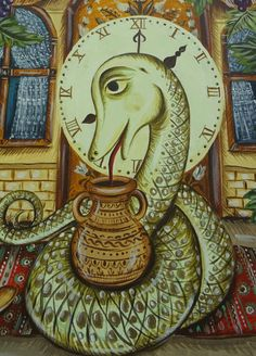 The home serpent