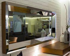 Moderne Wohnzimmer Spiegel