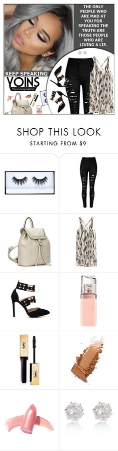 """""""Yoins Bag (Styling With Flare)"""" by melindairenes ❤ liked on Polyvore featuring HUGO, Elizabeth Arden, River Island, yoins, loveyoins and thanksweetie"""
