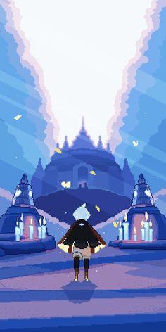 Sky Go, Sky Games, Pixel Art Grid, Lit Wallpaper, Child Of Light, Cute Kawaii Drawings, Httyd, Beautiful World, Art Reference